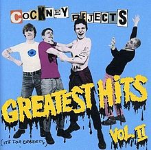 COCKNEY REJECTS - Greatest Hits Vol. 2 cover