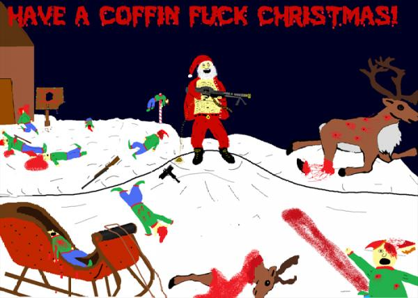 COFFIN FUCK - Deck The Halls cover