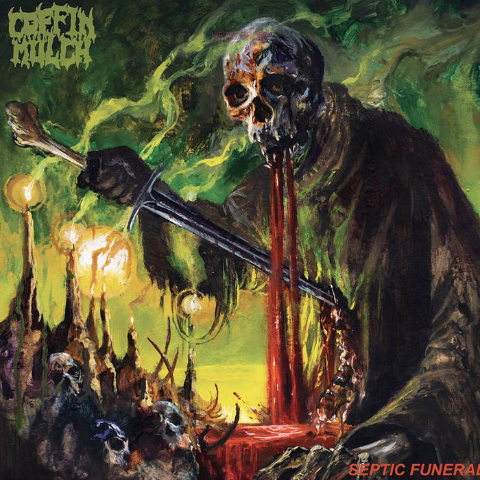 COFFIN MULCH - Septic Funeral cover