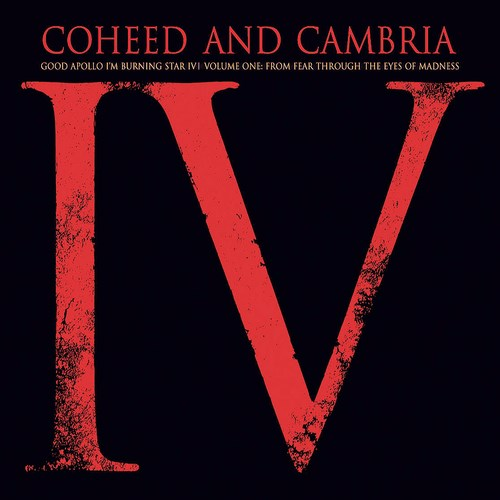 COHEED AND CAMBRIA - Good Apollo I'm Burning Star IV, Volume One: From Fear Through the Eyes of Madness cover