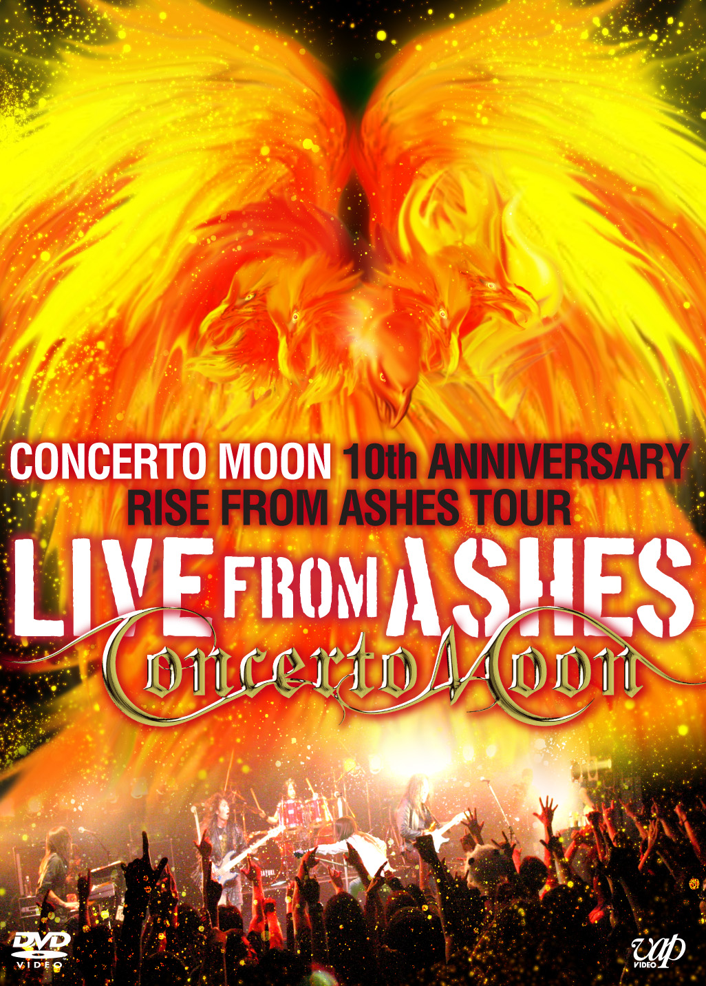 CONCERTO MOON - Live from Ashes - Concerto Moon 10th Anniversary Rise from Ashes Tour cover
