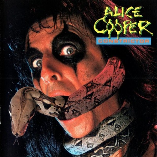 ALICE COOPER - Constrictor cover