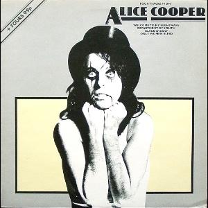 ALICE COOPER - Four Tracks From Alice Cooper cover