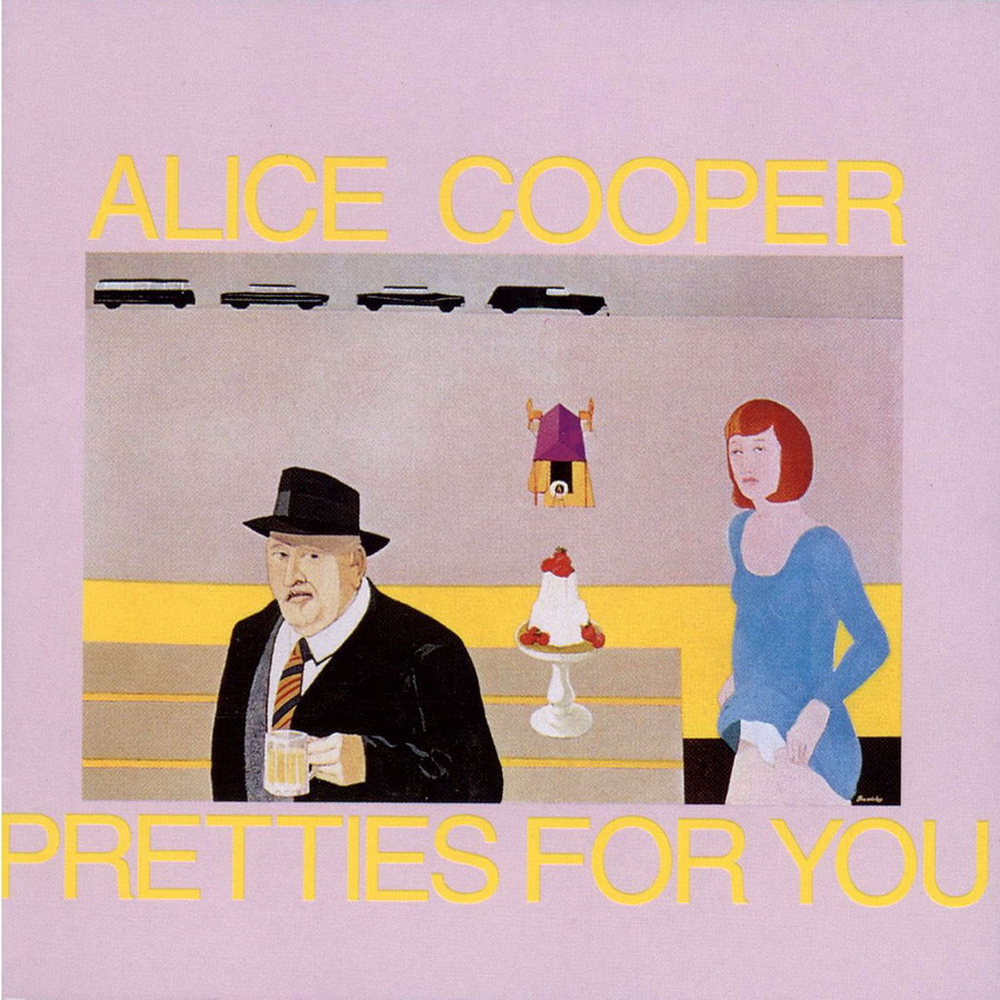 ALICE COOPER - Pretties For You cover