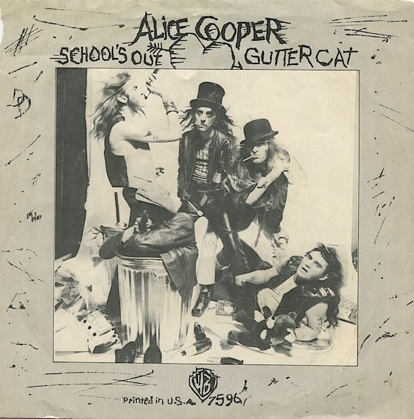 ALICE COOPER - School's Out / Gutter Cat cover