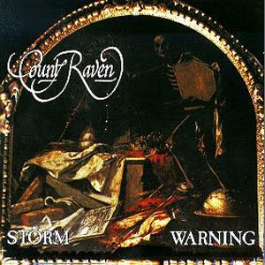 COUNT RAVEN - Storm Warning cover