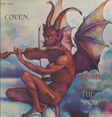 COVEN - Blood On The Snow cover