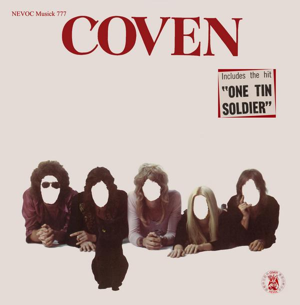 COVEN - Coven cover