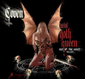 COVEN - Metal Goth Queen: Out Of The Vaults cover