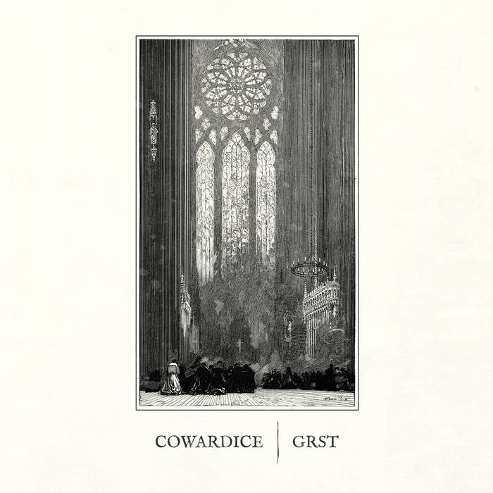 COWARDICE (NJ) - Cowardice / Grst cover