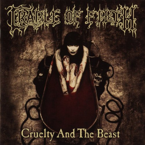 CRADLE OF FILTH - Cruelty and the Beast cover