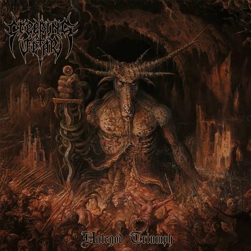 CREEPING FEAR - Hategod Triumph cover