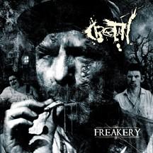 CRETIN - Freakery cover