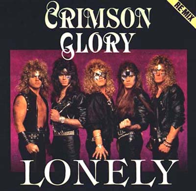 CRIMSON GLORY - Lonely cover