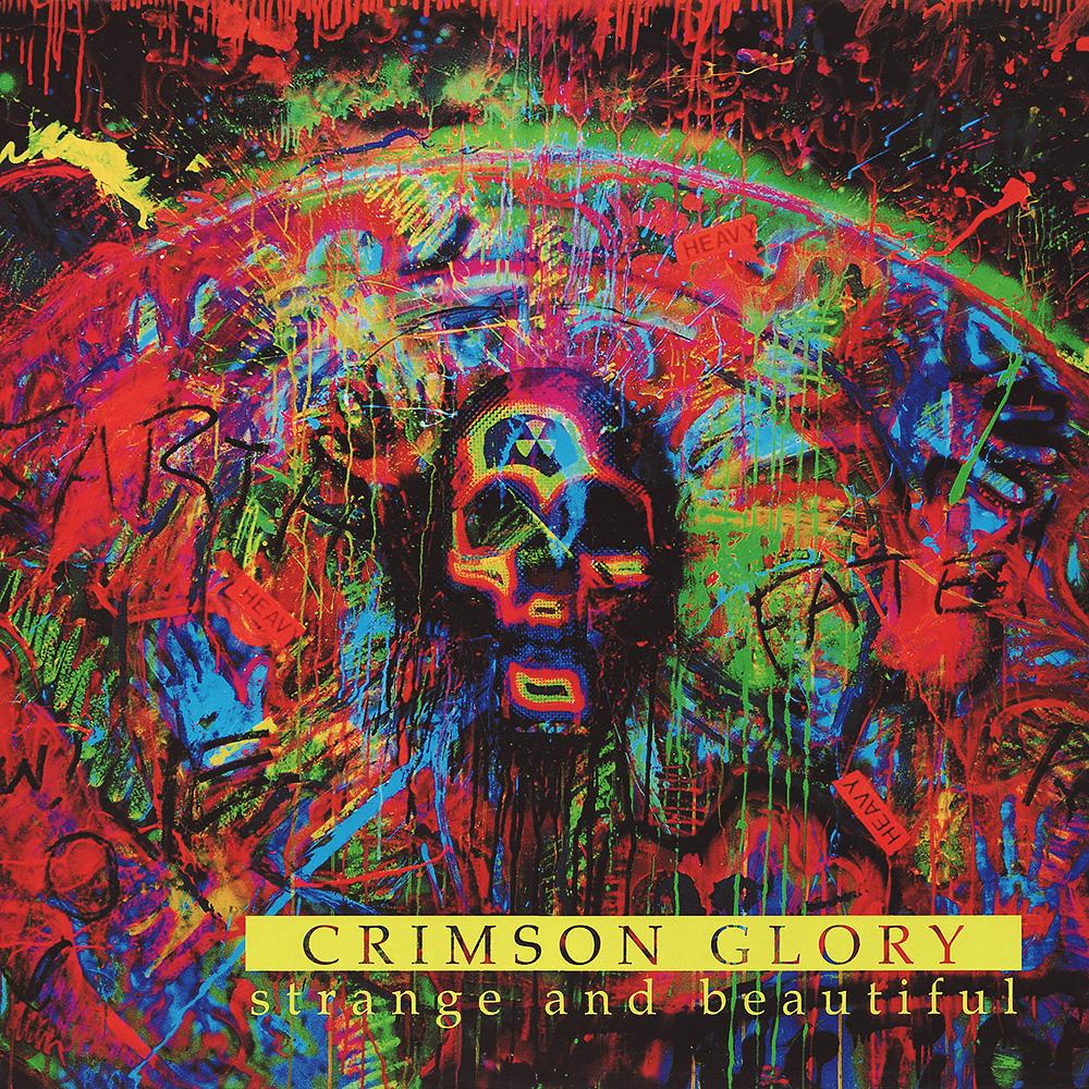 CRIMSON GLORY - Strange And Beautiful cover