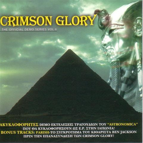 CRIMSON GLORY - The Official Demo Series Vol. 8 cover