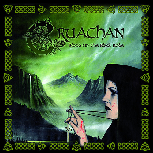 CRUACHAN - Blood on the Black Robe cover