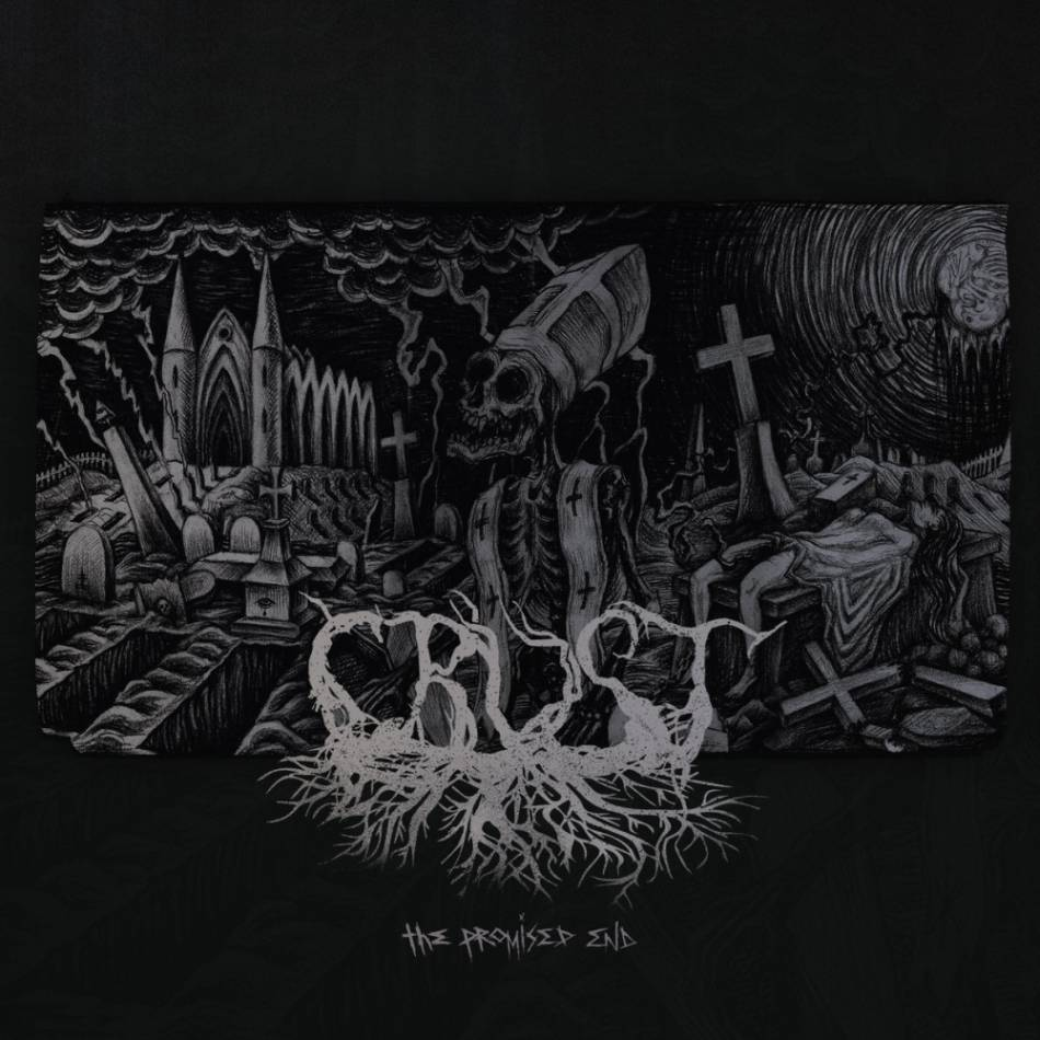 CRUST - The Promised End cover