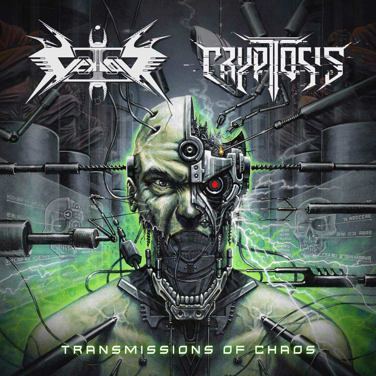 CRYPTOSIS - Transmissions of Chaos cover
