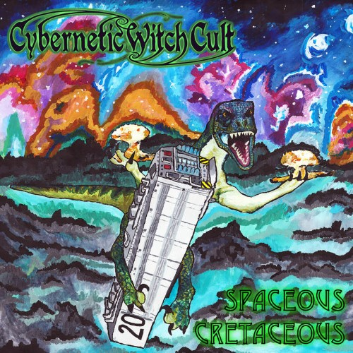 CYBERNETIC WITCH CULT - Spaceous Cretaceous cover