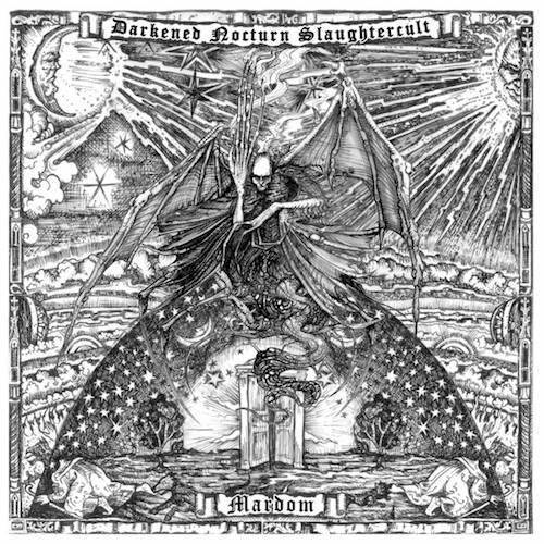 DARKENED NOCTURN SLAUGHTERCULT - Mardom cover