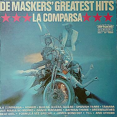 DE MASKERS - De Maskers' Greatest Hits: La Comparsa cover