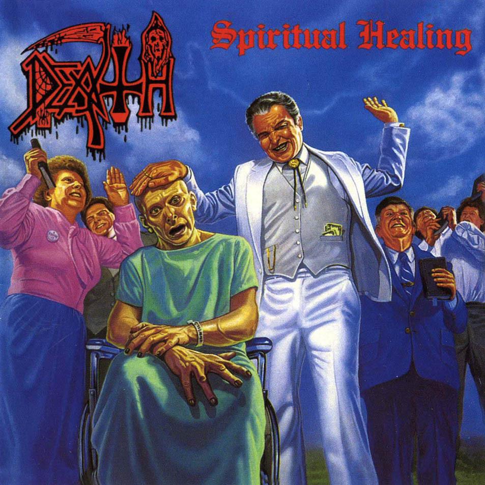DEATH - Spiritual Healing cover