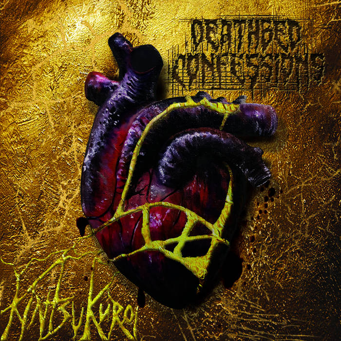DEATHBED CONFESSIONS - Kintsukuroi cover