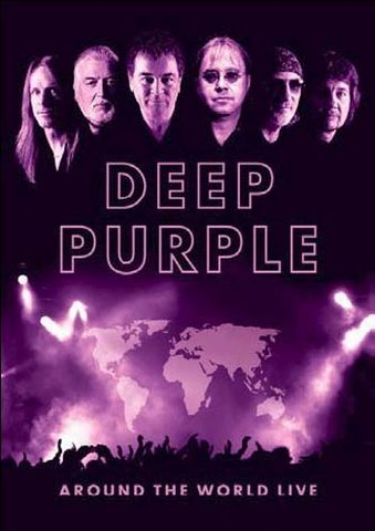 DEEP PURPLE - Around The World Live cover