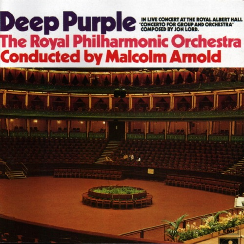 DEEP PURPLE - Concerto For Group And Orchestra cover