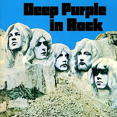 DEEP PURPLE - Deep Purple In Rock cover
