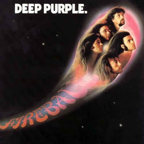 DEEP PURPLE - Fireball cover