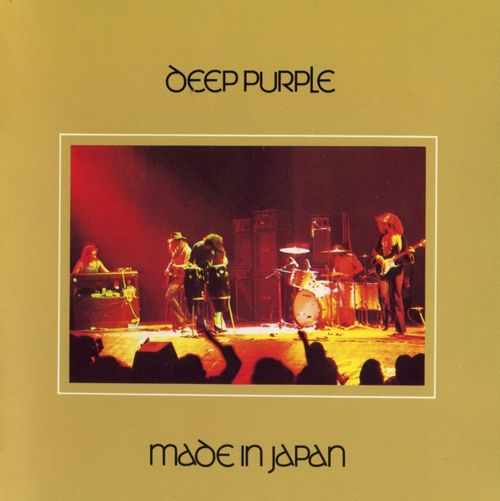 DEEP PURPLE - Made In Japan cover