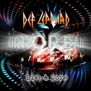 DEF LEPPARD - Mirrorball cover