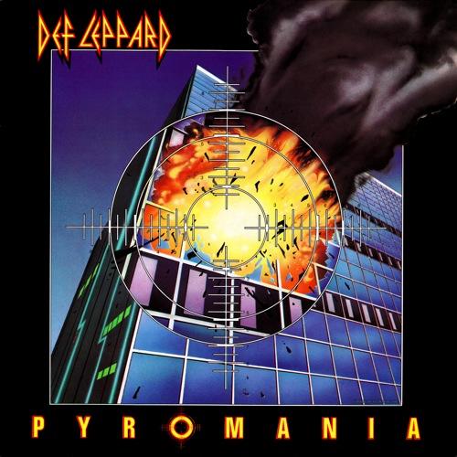 DEF LEPPARD - Pyromania cover