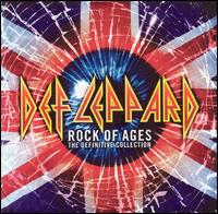 DEF LEPPARD - Rock Of Ages: The Definitive Collection cover