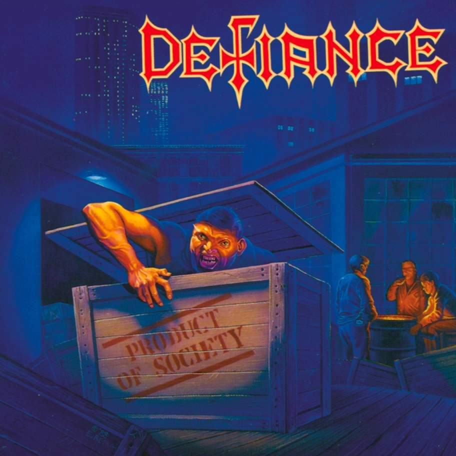 DEFIANCE - Product of Society cover