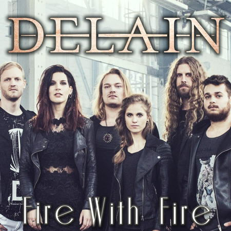 DELAIN - Fire with Fire cover