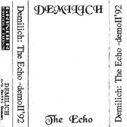 DEMILICH - The Echo cover