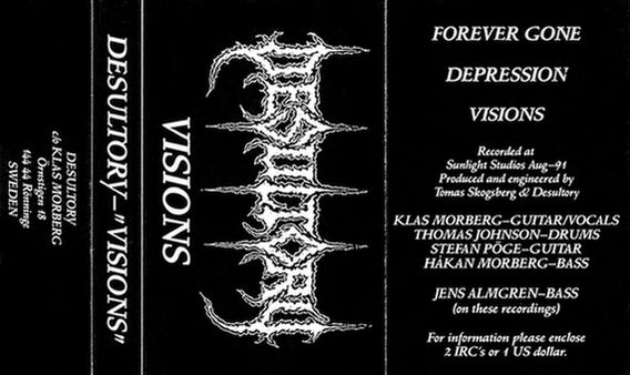DESULTORY - Visions cover