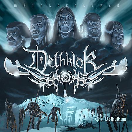 DETHKLOK - The Dethalbum cover