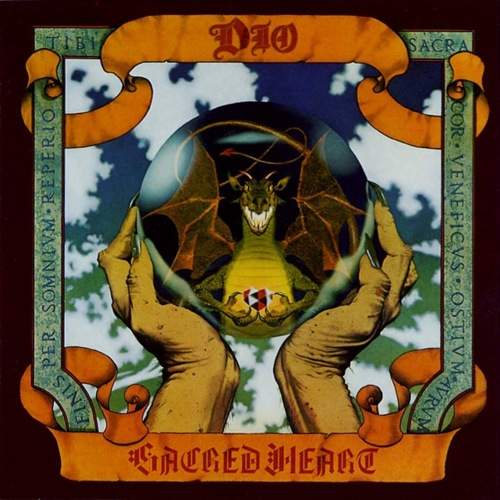 DIO - Sacred Heart cover