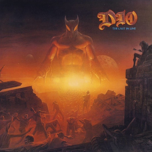 DIO - The Last in Line cover