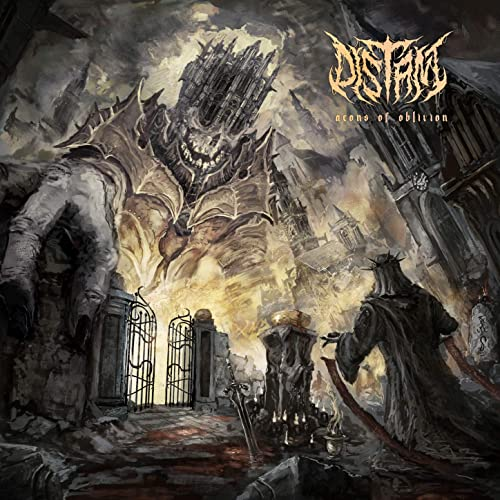 DISTANT - Aeons Of Oblivion cover