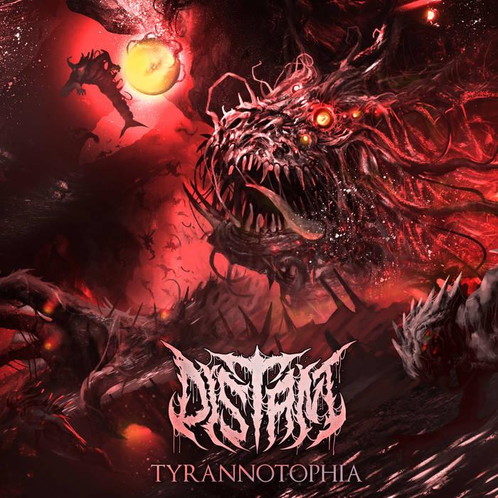 DISTANT - Tyrannotophia cover