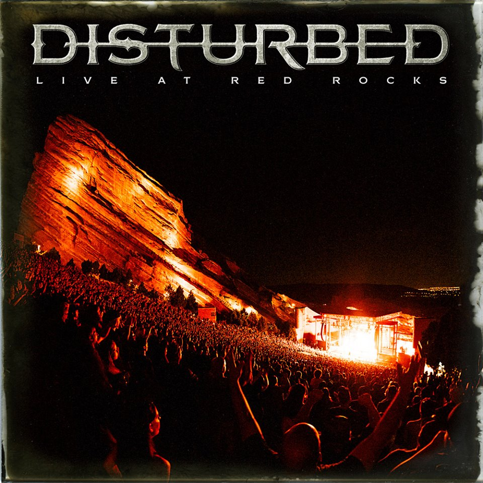 DISTURBED - Live at Red Rocks cover