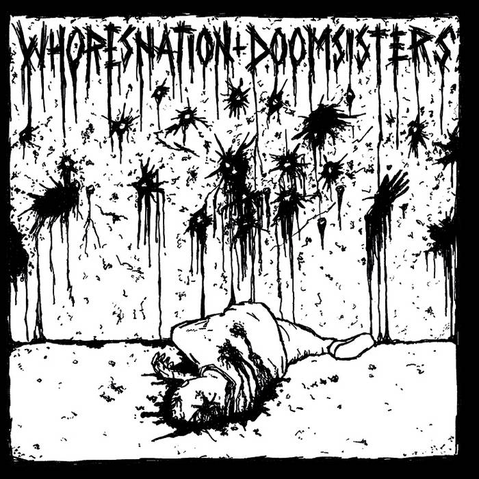 DOOMSISTERS - Whoresnation / Doomsisters cover