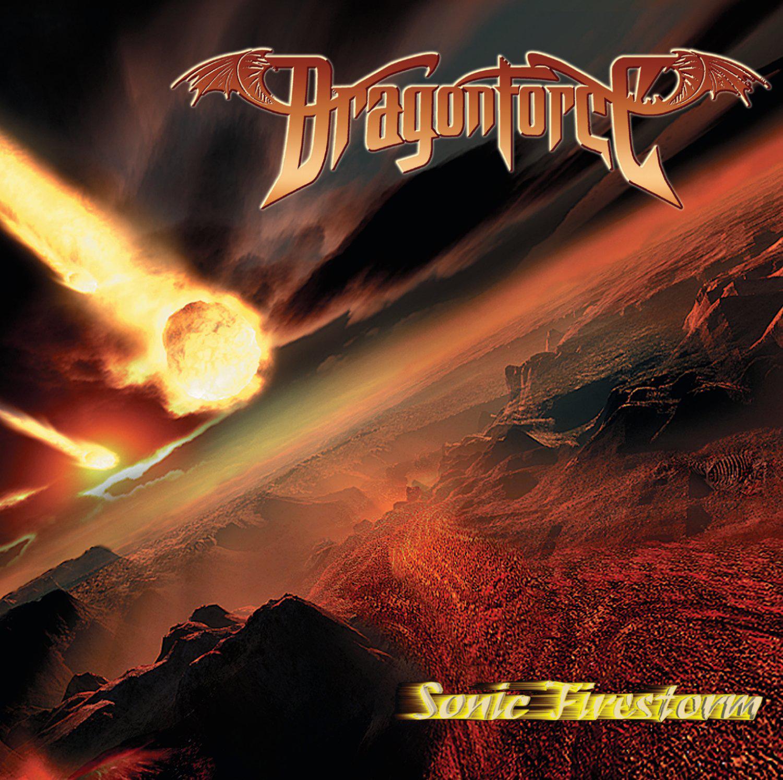 DRAGONFORCE - Sonic Firestorm cover