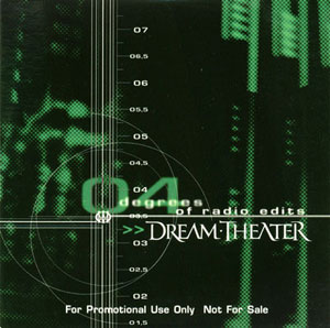 DREAM THEATER - 04 Degrees of Radio Edits (Christmas CD 2001) cover