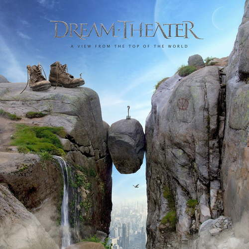 DREAM THEATER - A View from the Top of the World cover